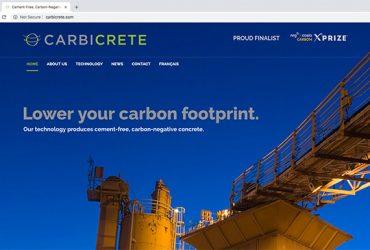 Carbicrete website
